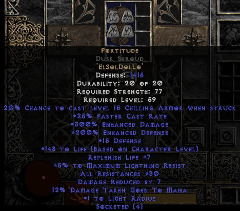 Buy Diablo 2 Fortitude Dusk Shroud 30 Res 1 1 5 Life At D2trophy Com Cannot support skills used by. buy diablo 2 d2trophy com at d2trophy com free giveaways d2trophy com